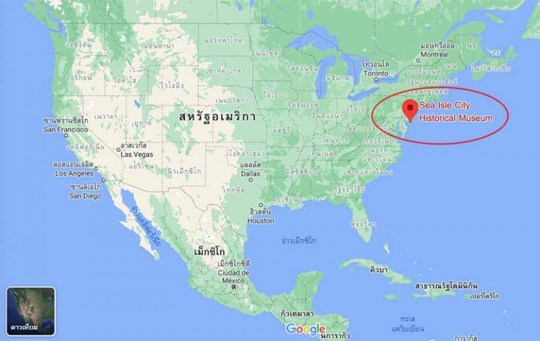 sea isle maps
